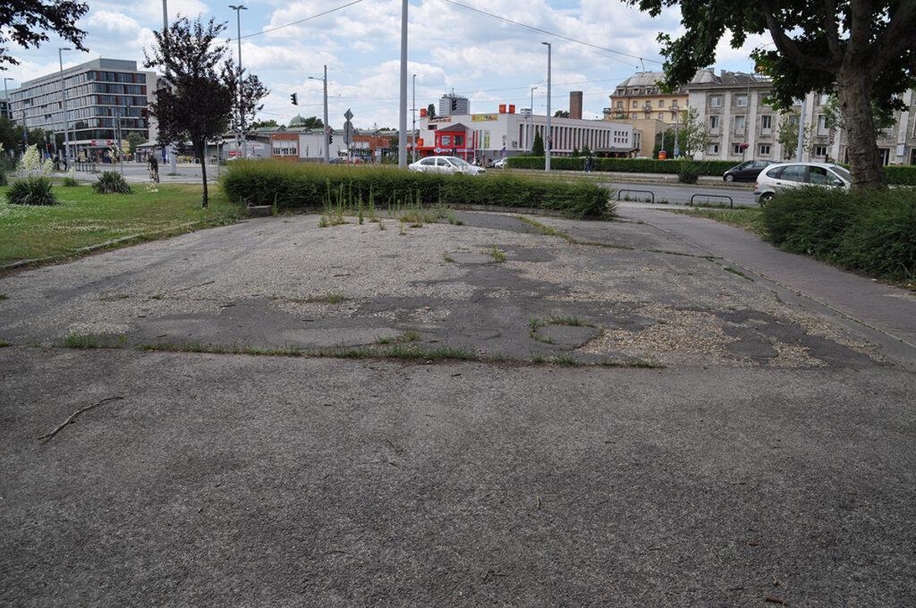 Doodlopend pad in Nepliget Park