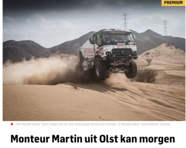 Martin Roesink Dakar