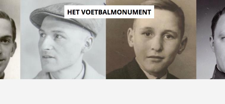 Onderzoek omgekomen voetballers op het KNVB-monument