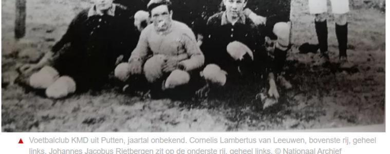 Omgekomen voetballers uit Putten